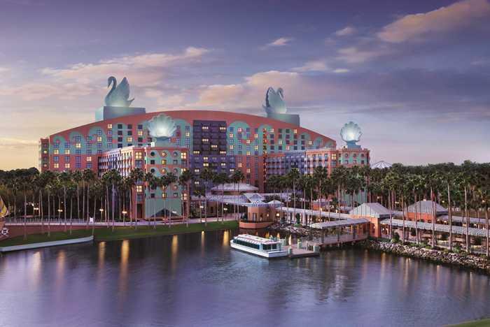 Walt Disney World Swan overview