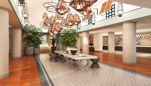 New look lobby coming to the Walt Disney World Swan