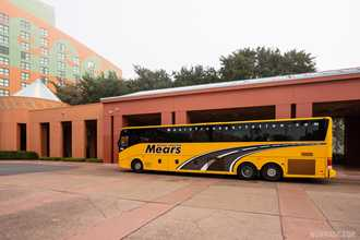 Walt Disney World Swan and Dolphin theme park drop off locations move to charter lots following yesterday's switch to Mears shuttles