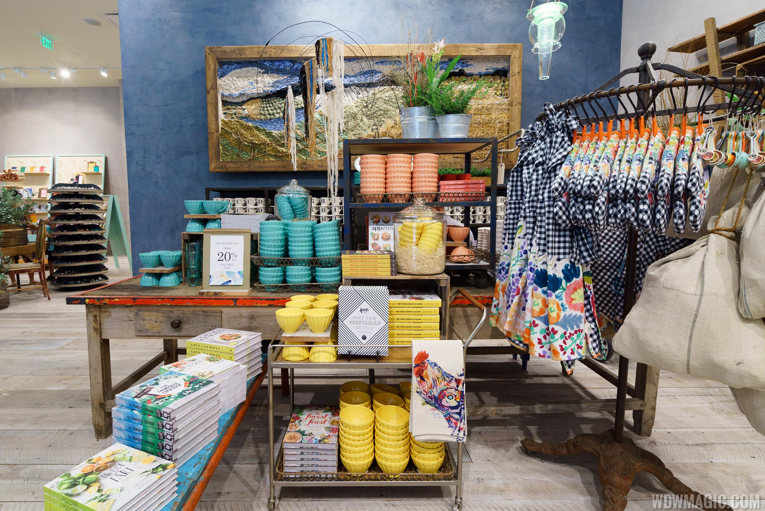 Anthropologie ground floor merchandise