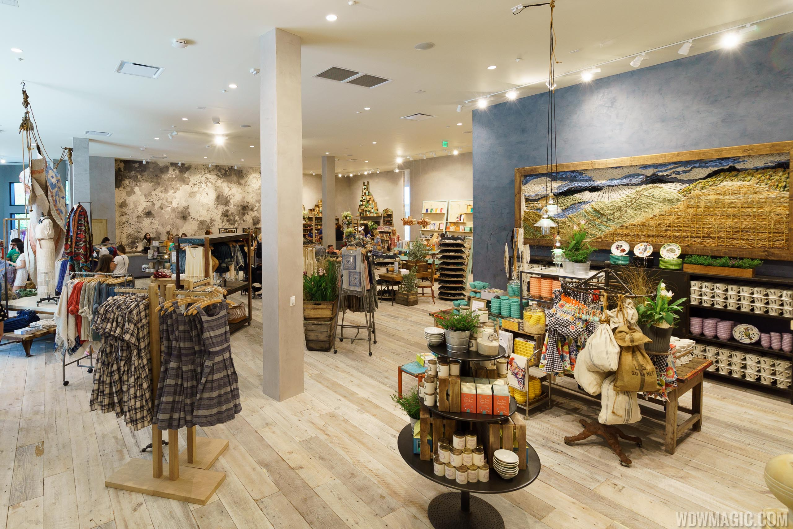 Anthropologie ground floor at Disney Springs