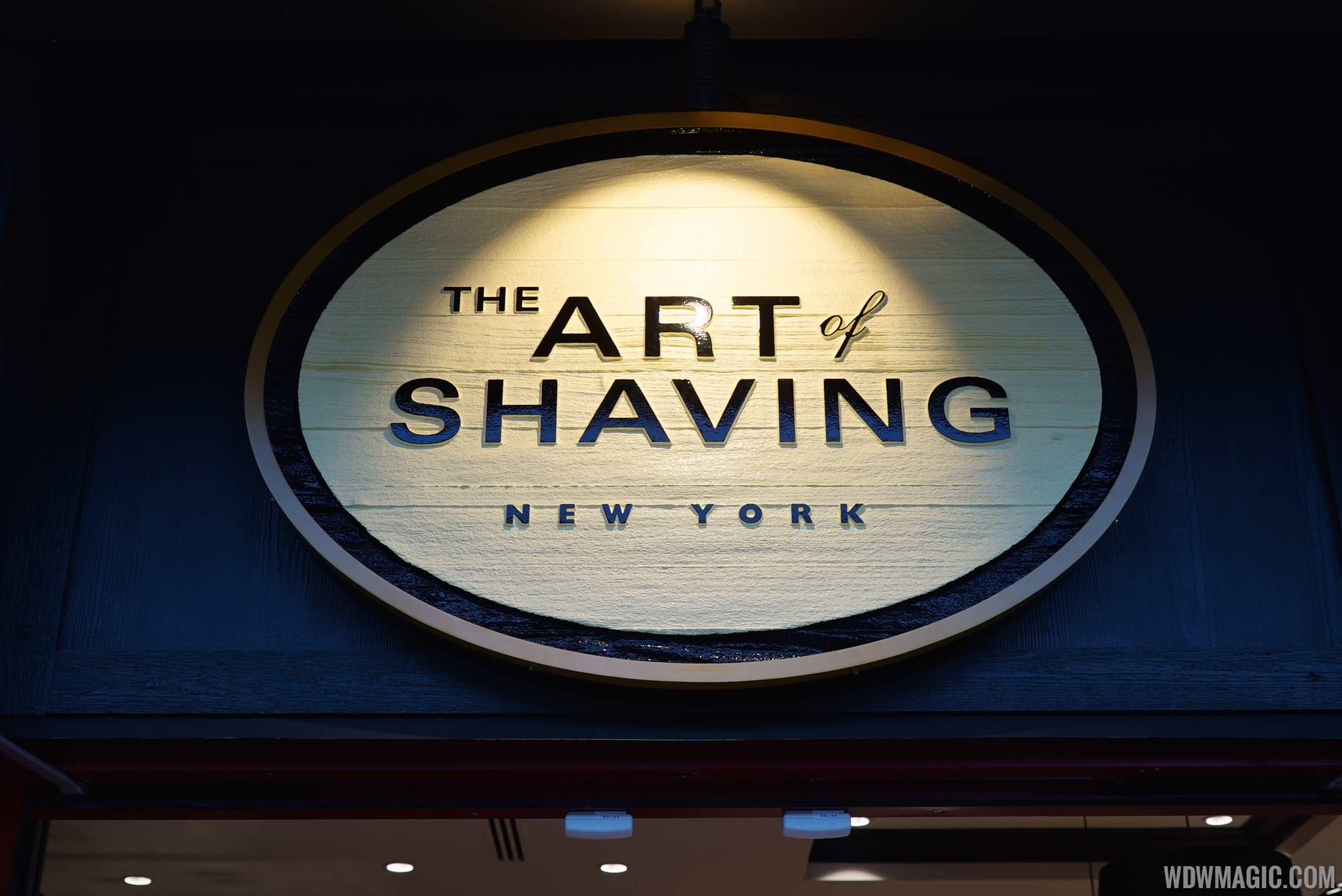 Art of Shaving - Signage