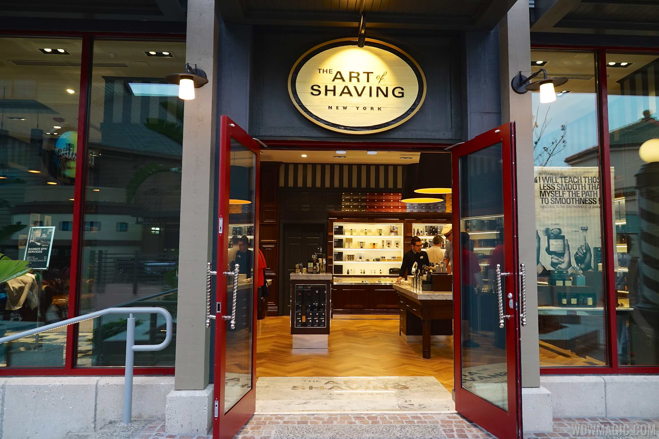 Art of Shaving - Entrance