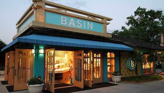 Basin undergoing refurbishment at Disney Springs