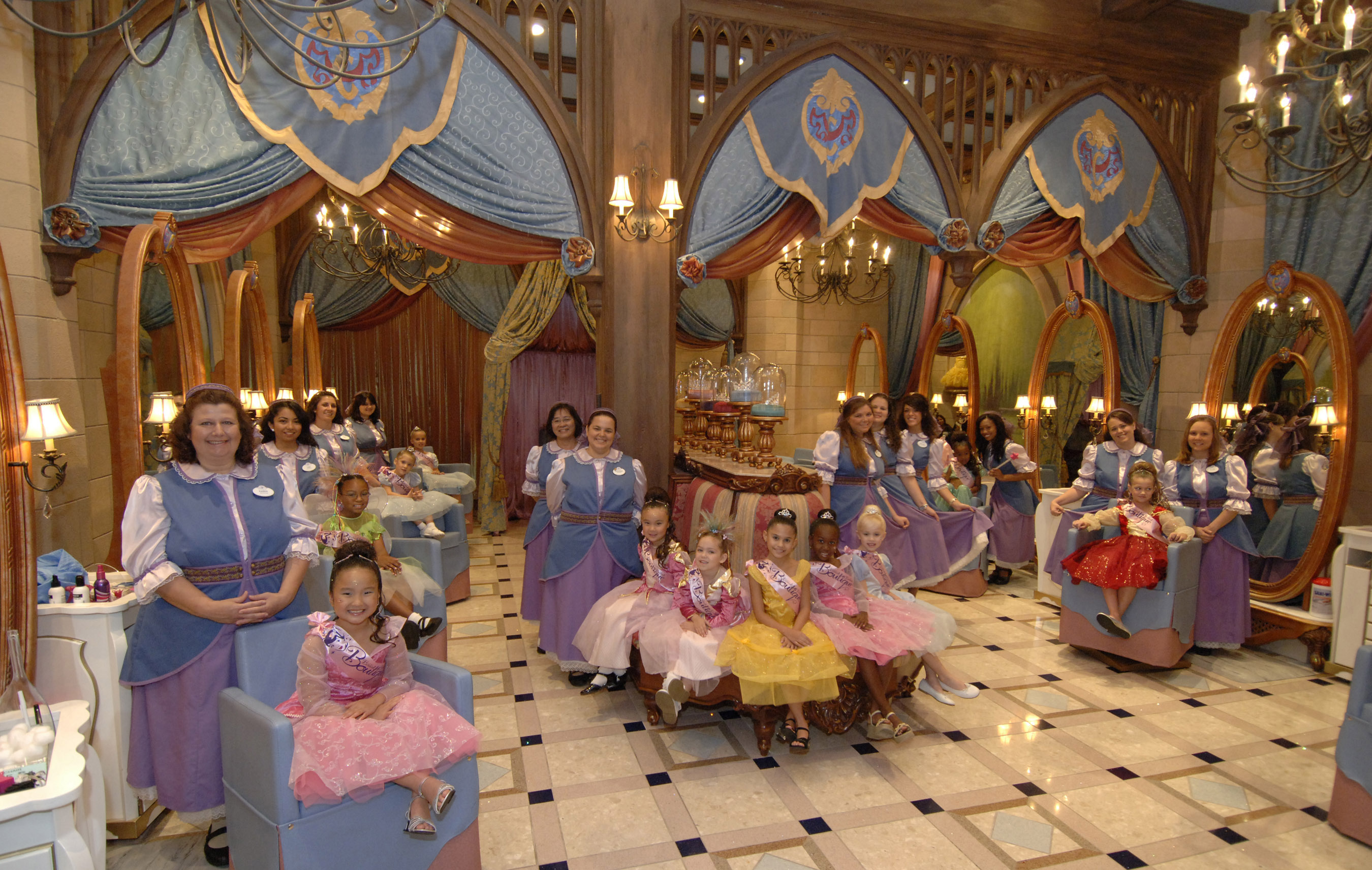 Bibbidi Bobbed Boutique at Cinderella Castle