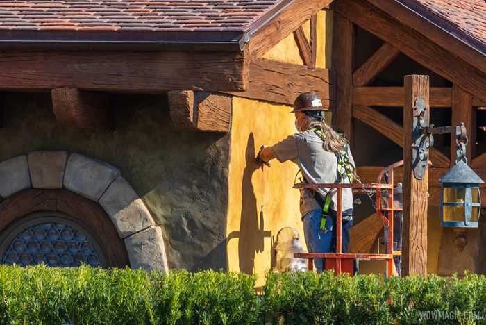 Bonjour Village Gifts exterior refurbishment