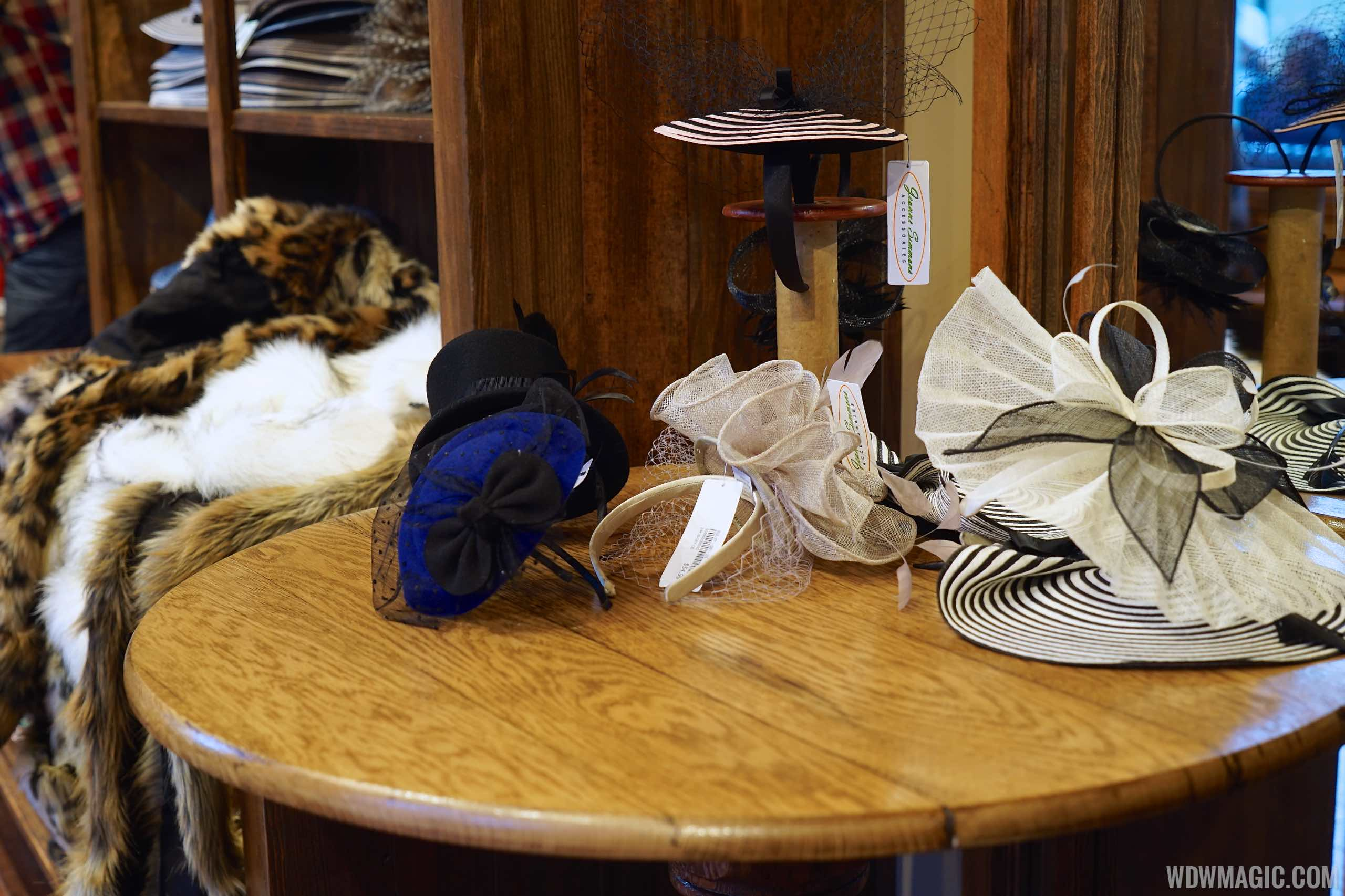 Chapel Hats - Hat display
