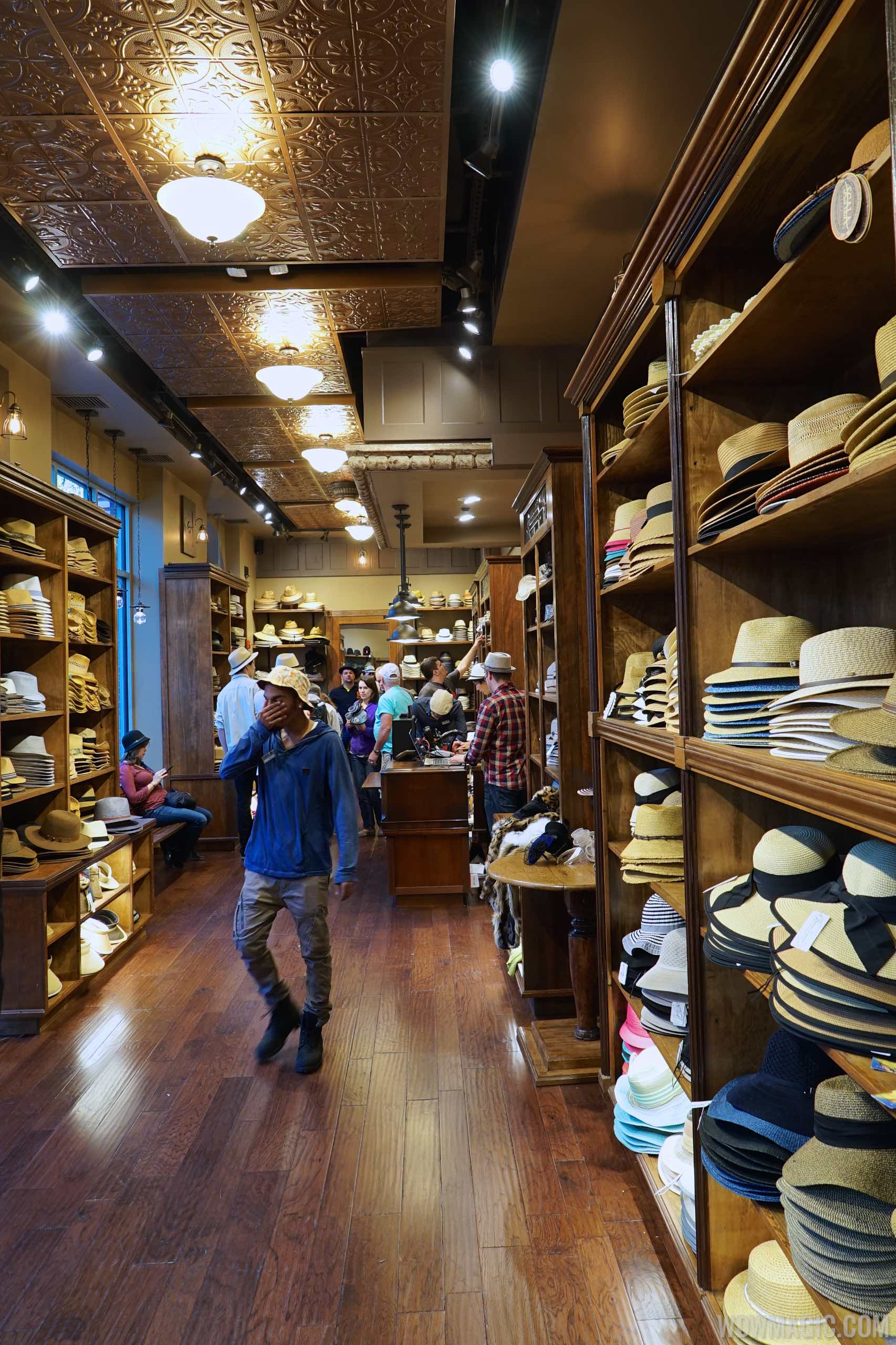 Chapel Hats - View of store