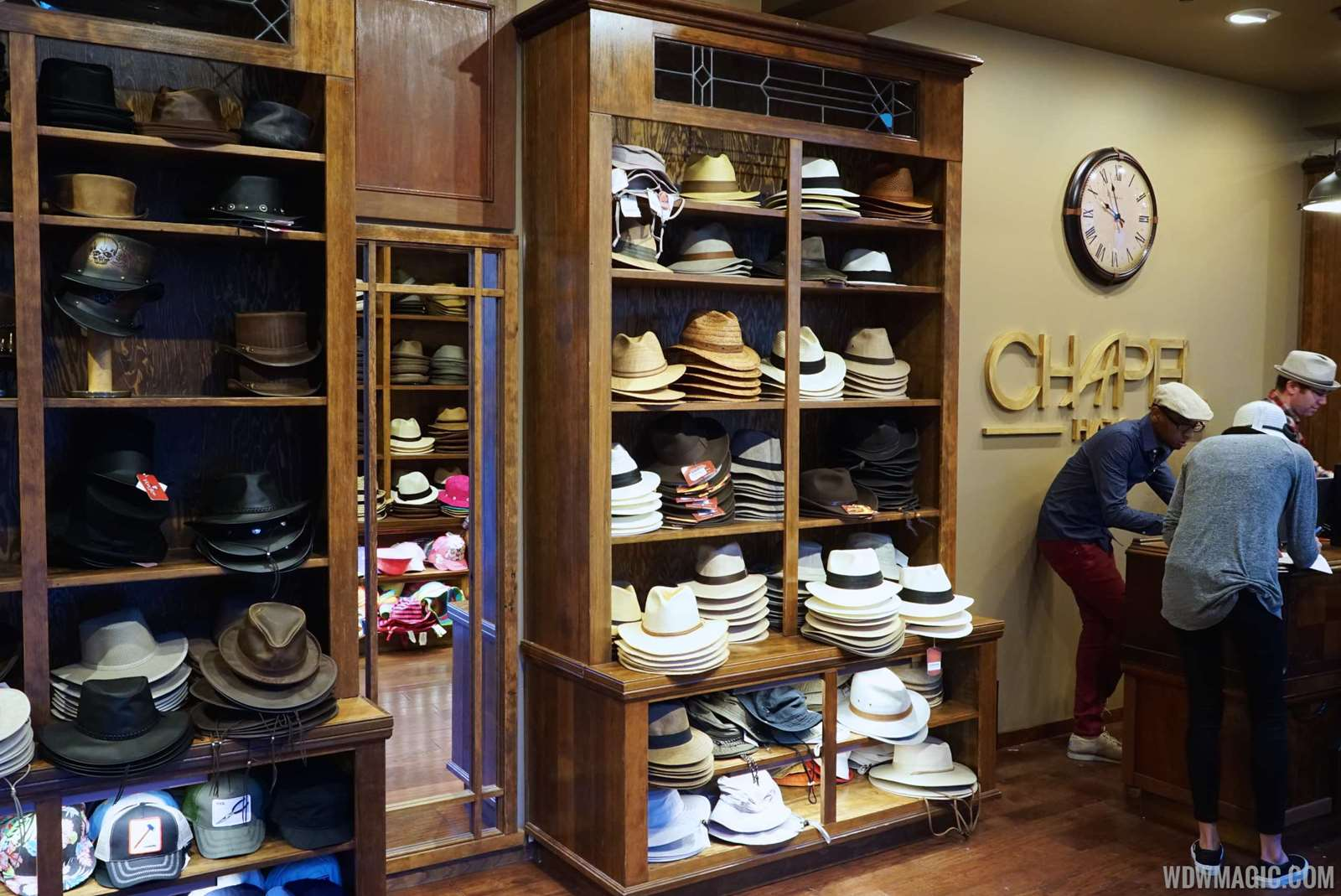9ad6f2eabd35e PHOTOS - Inside the new Chapel Hats store at Disney Springs