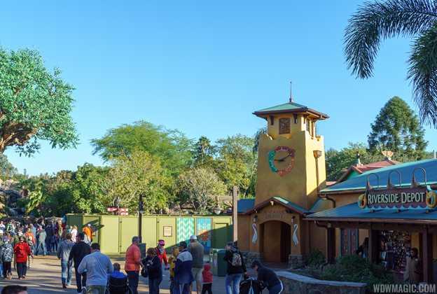 Disney Outfitters refurbishment