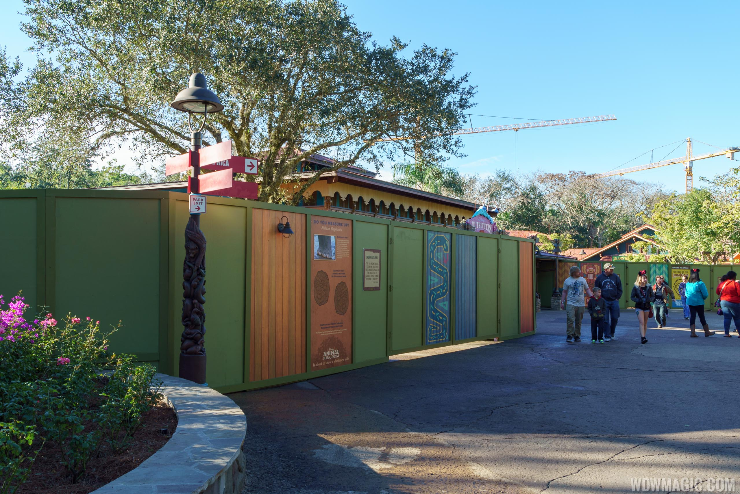 Disney Outfitters refurbishment