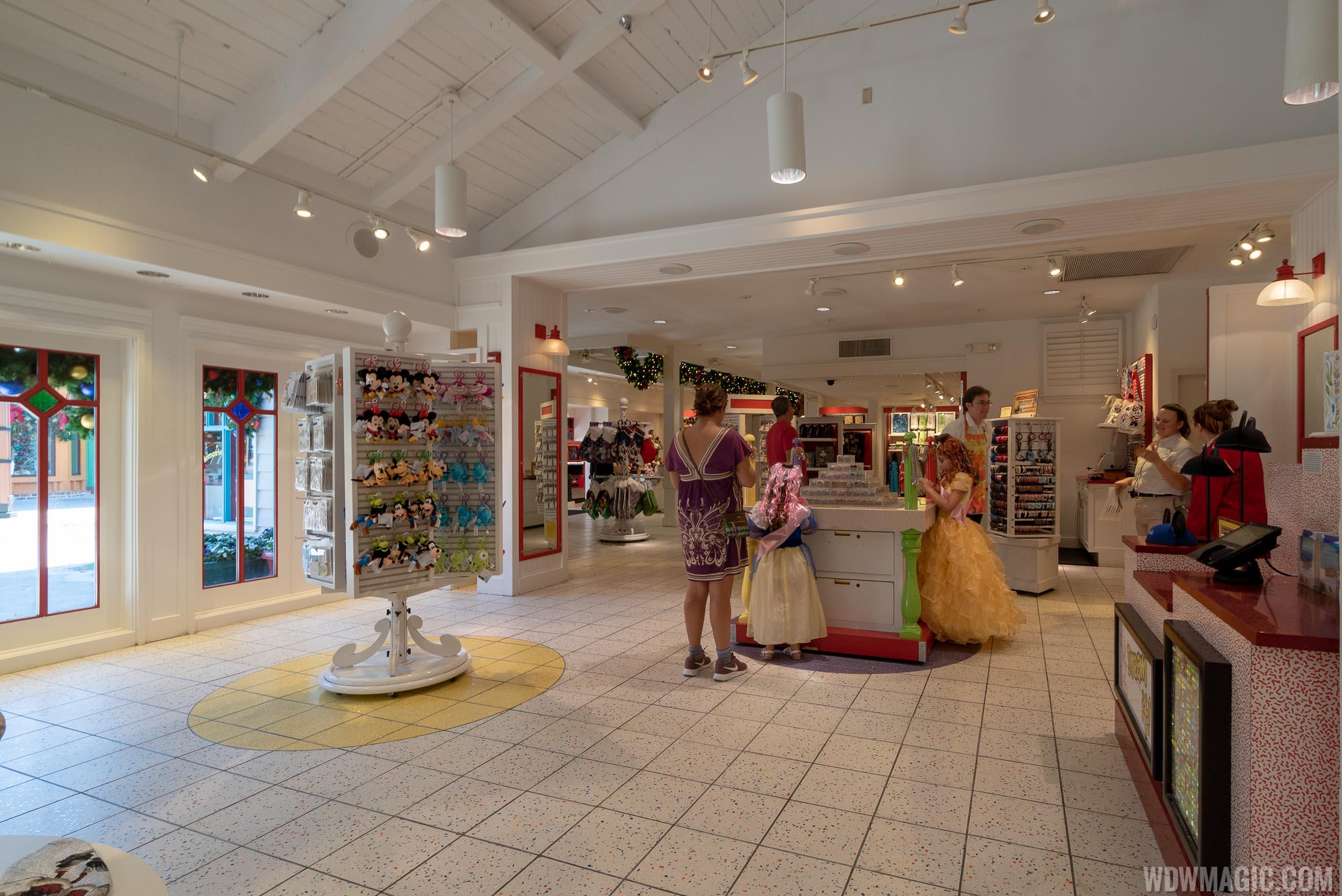 Disney's Wonderful World of Memories extended space