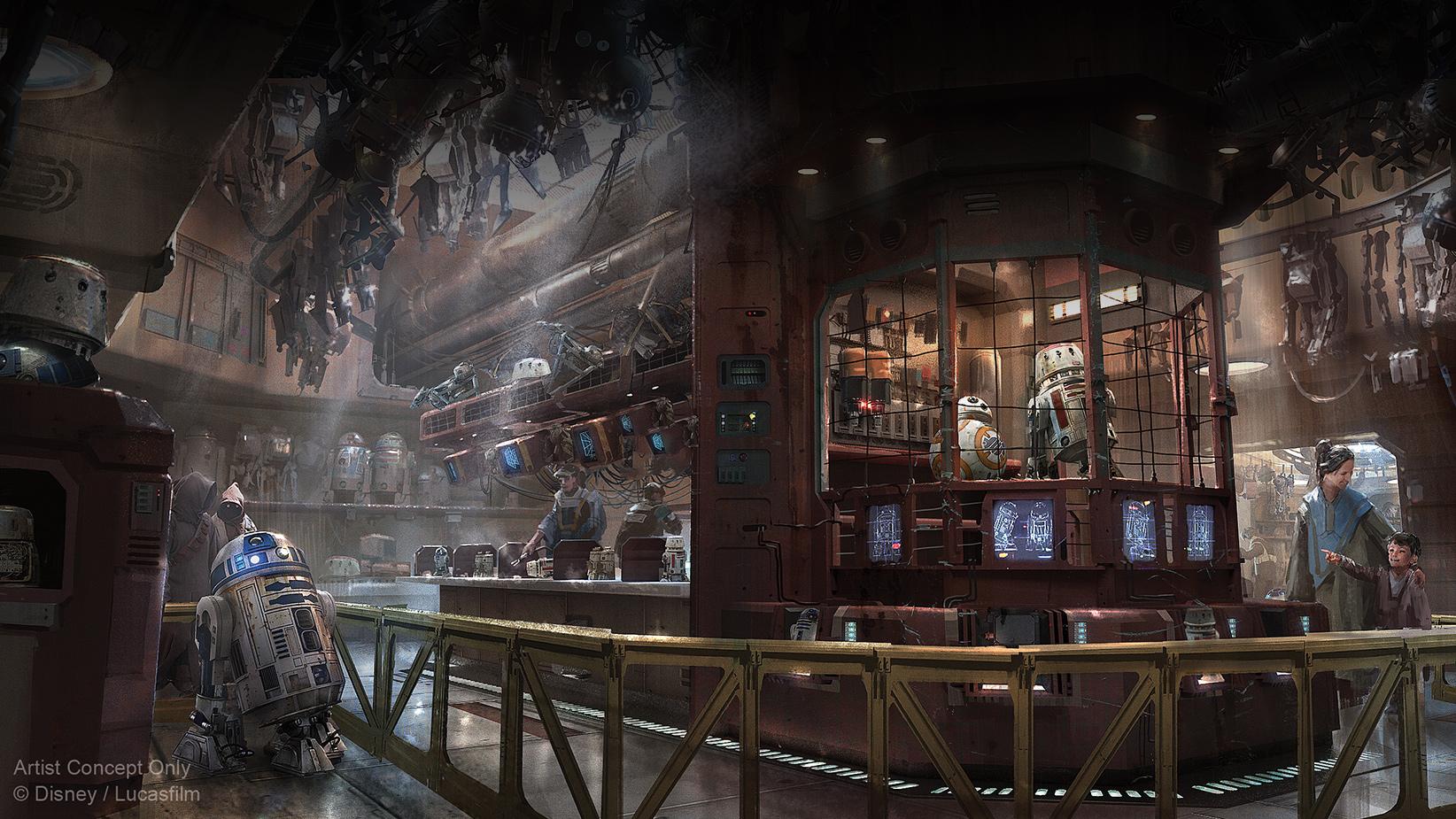Droid Depot concept art
