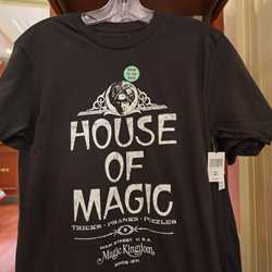 House of Magic storefront on Main Street U.S.A.