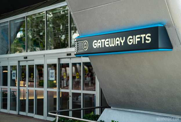 New signage at Gateway Gifts