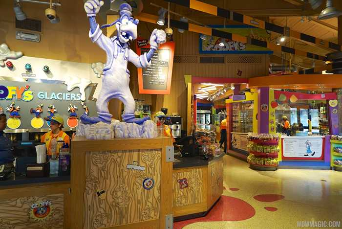 Inside Goofy's Candy Co