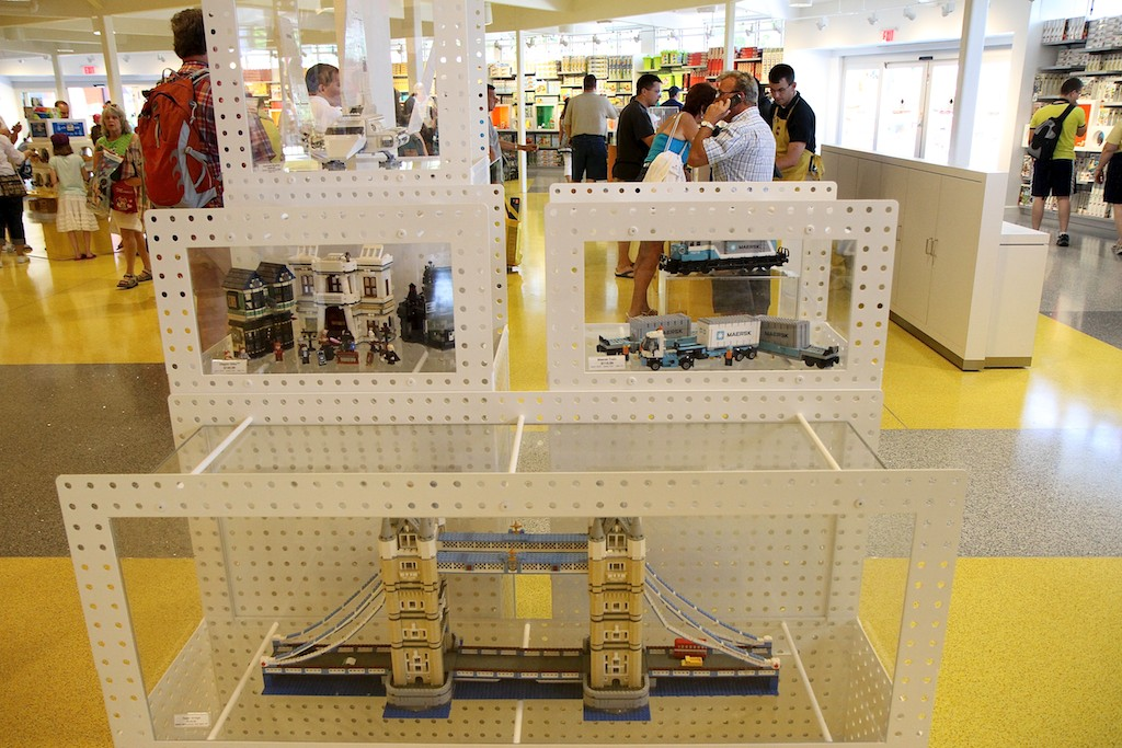 New LEGO Imagination Center - opening day