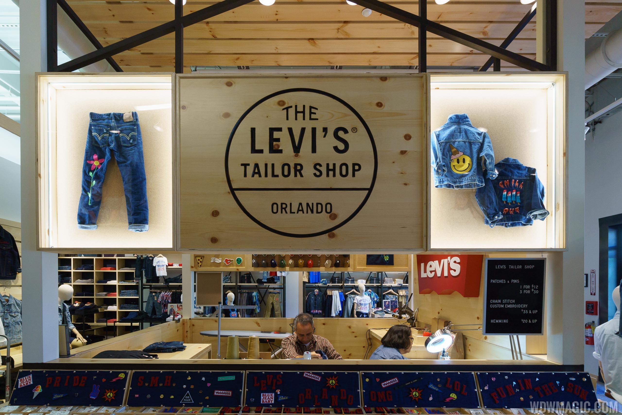 The Levi's Taylor Shop Orlando at Disney Springs