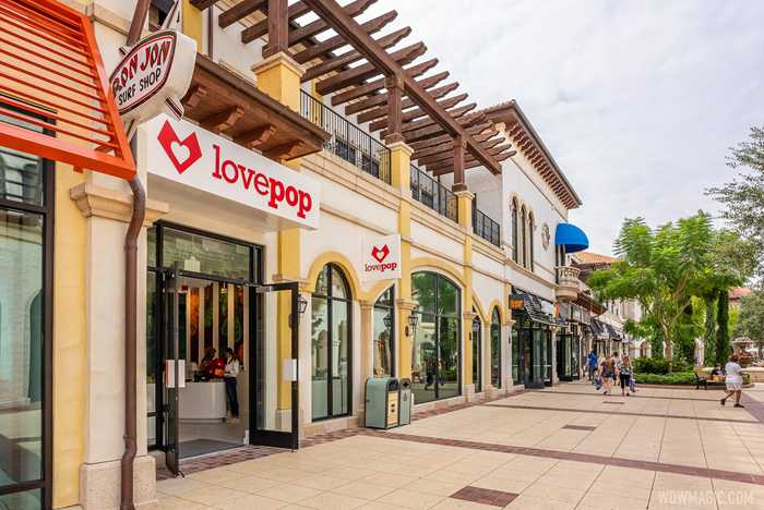 Lovepop store at Disney Springs overview