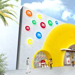 M&M'S Store Disney Springs concept art