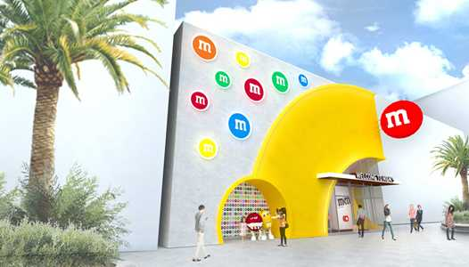 PHOTO - Concept art of the new M&M'S Store coming to Disney Springs