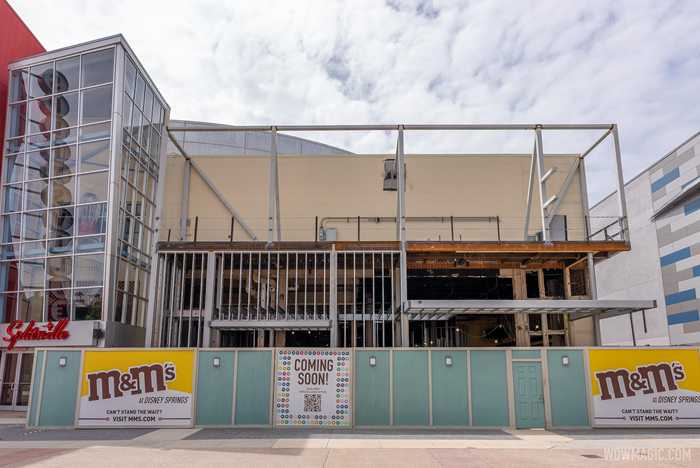 M&M'S Store Disney Springs construction - October 1 2020