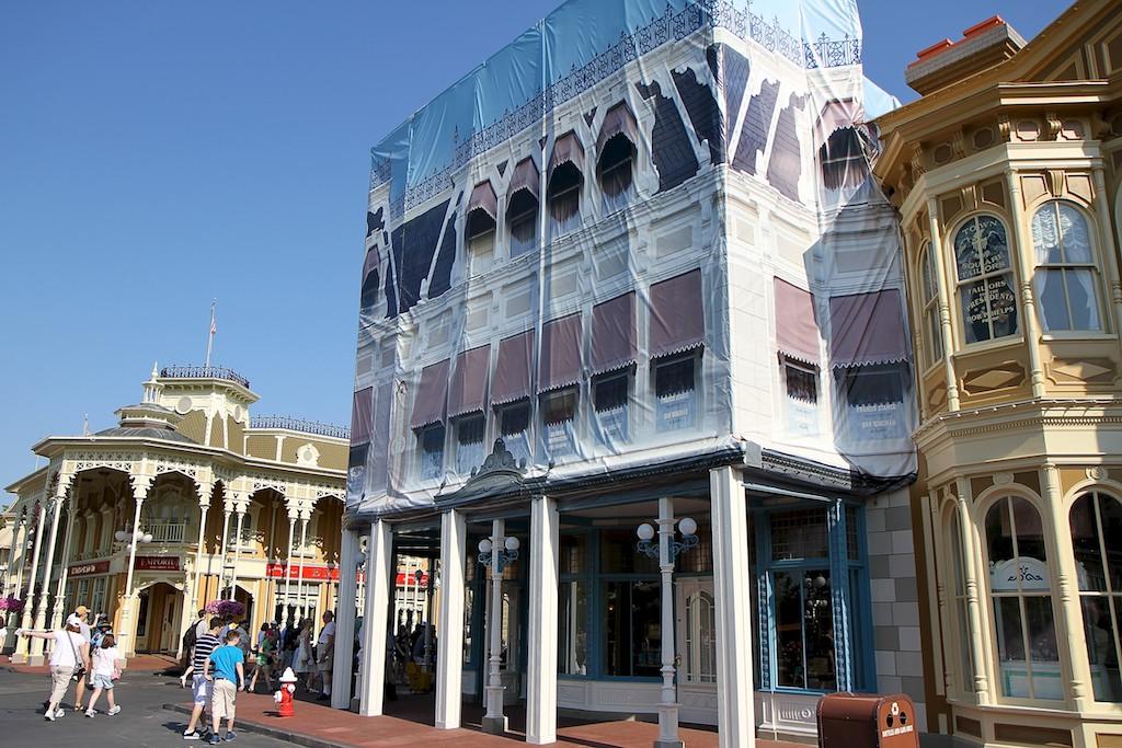 Main Street Confectionary exterior refurbishment