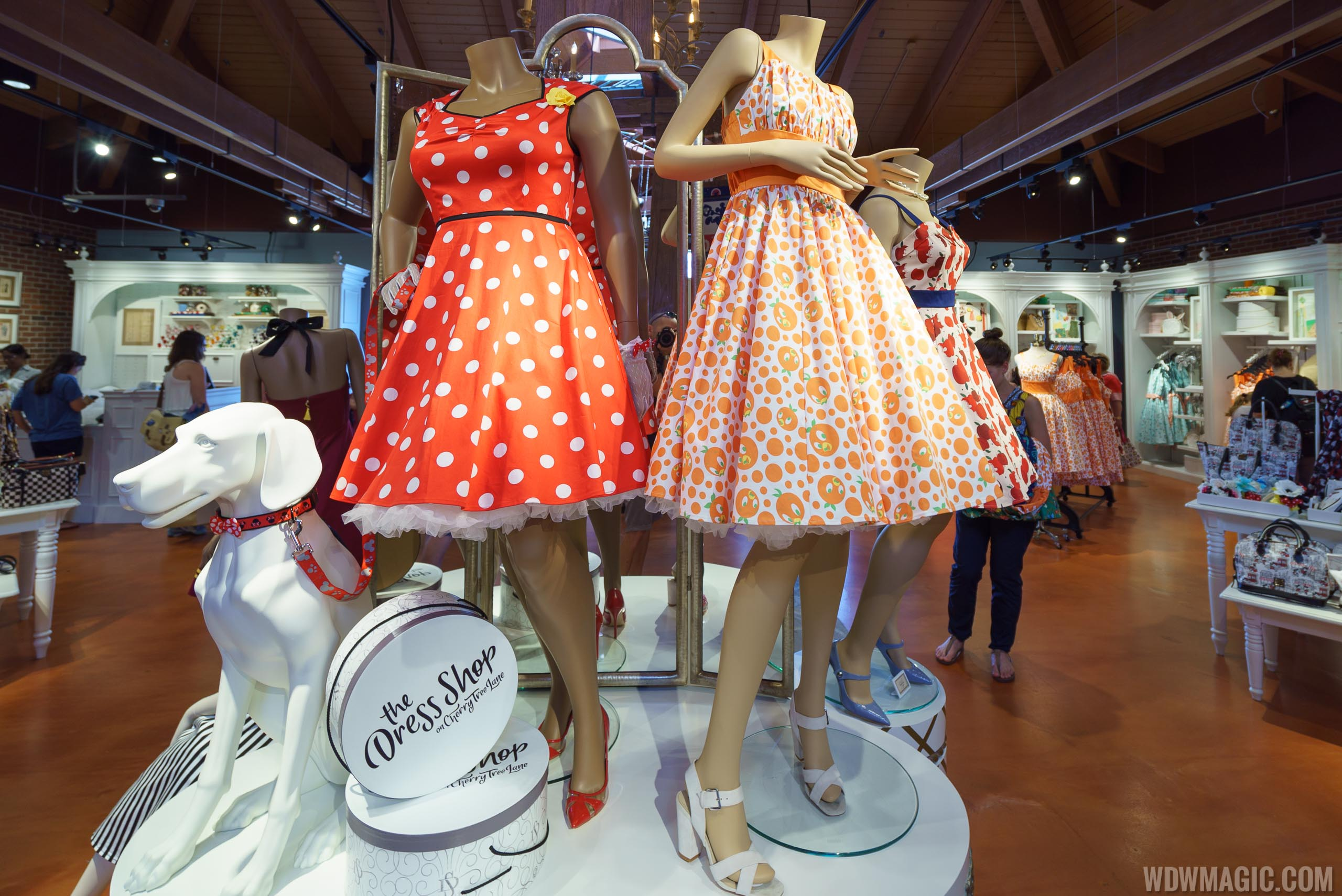 The Dress Shop on Cherry Tree Lane display