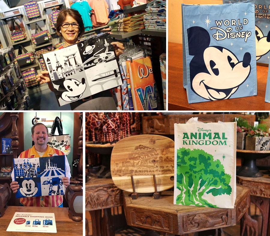 Walt Disney World reusable bag designs February 2019