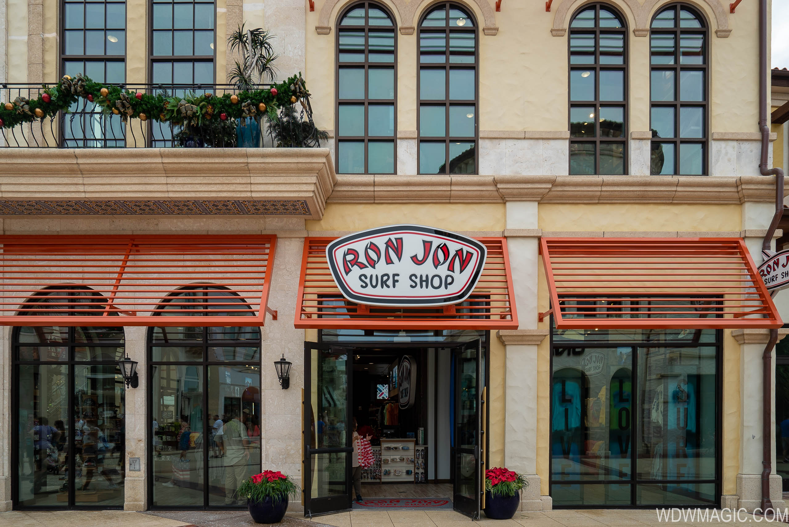 Inside Ron Jon Surf Shop Disney Springs