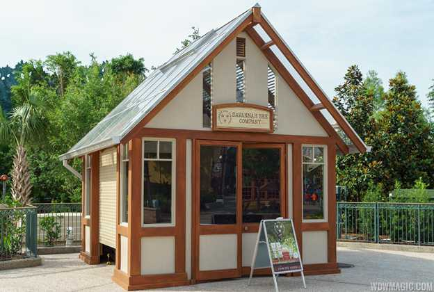 Savannah Bee Company kiosk