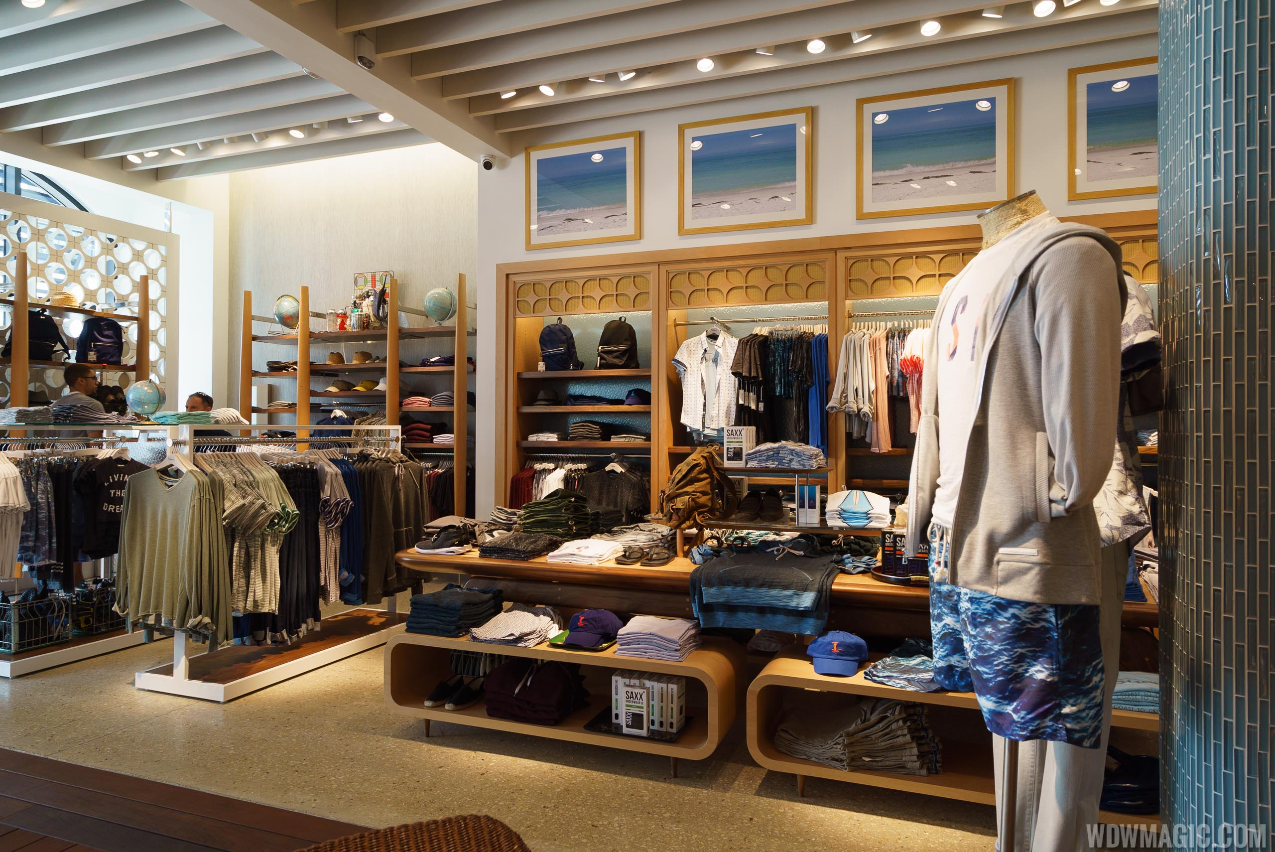 Inside the Shore store at Disney Springs Town Center
