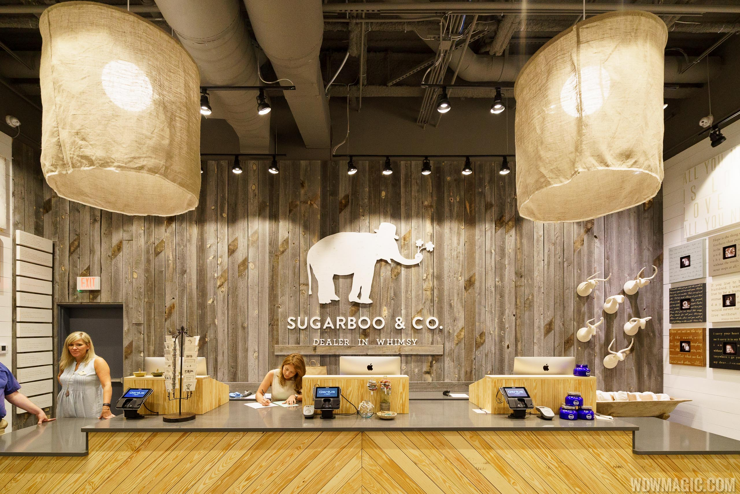 Sugarboo and Co. interior at Town Center Disney Springs