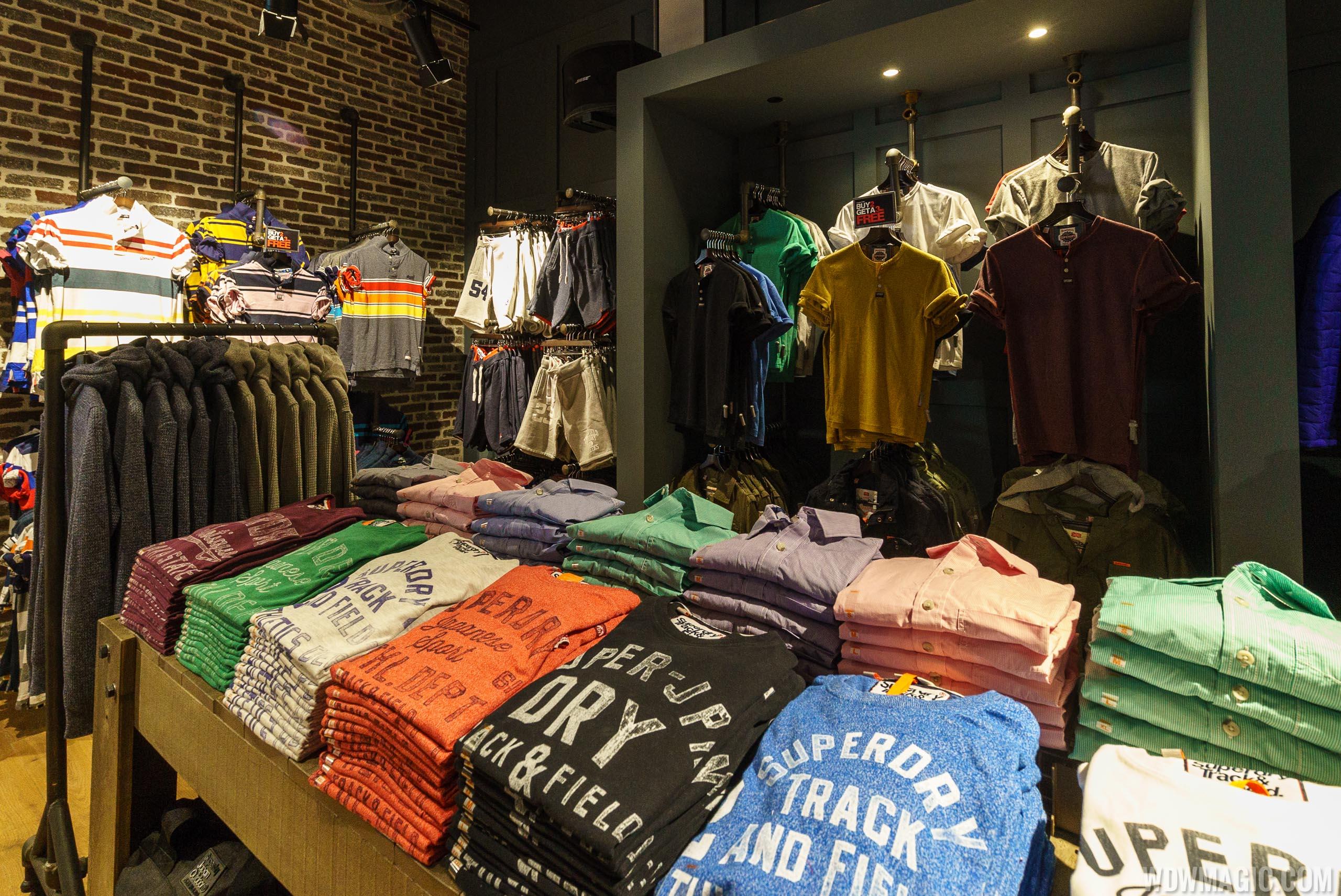 Superdry merchandise