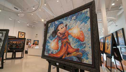 PHOTOS - The Art of Disney Presents Greg McCullough now open at Disney Springs