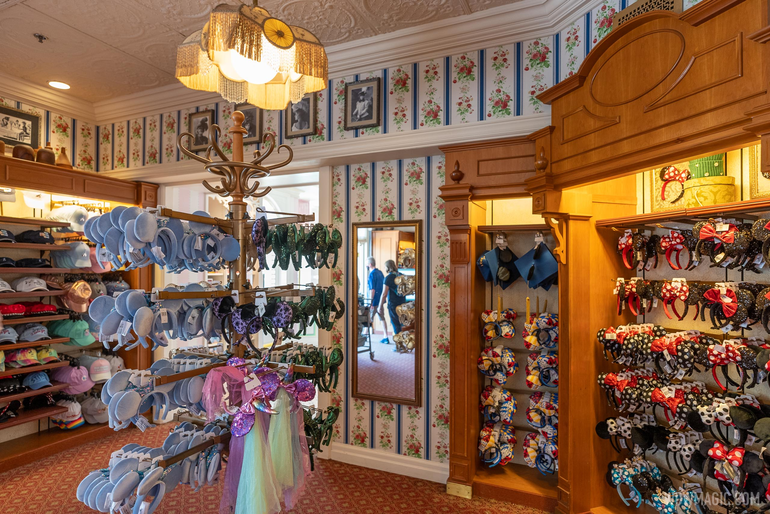 This area of The Chapeau is closest to Main Street Confectionery
