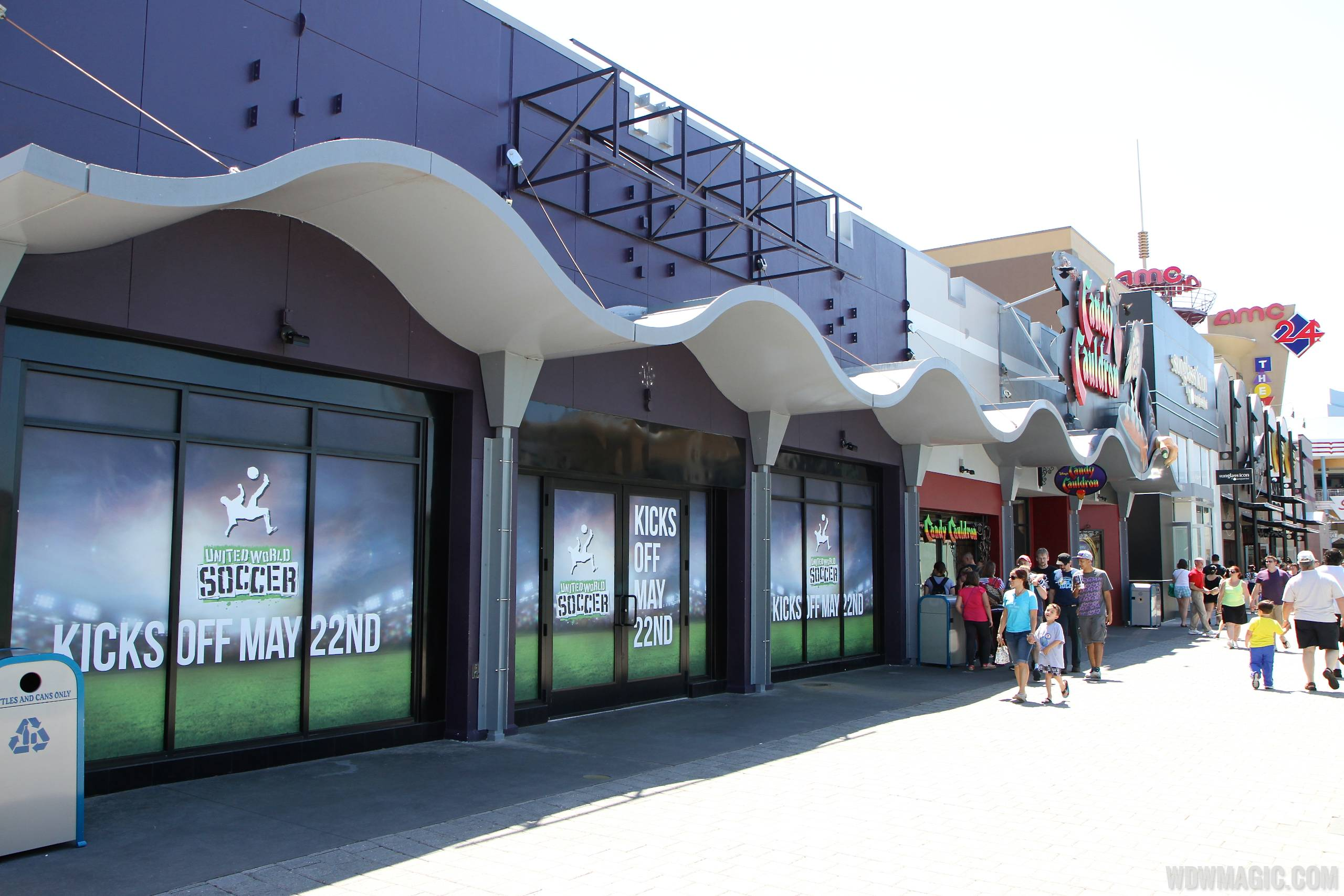 United World Soccer coming to Downtown Disney
