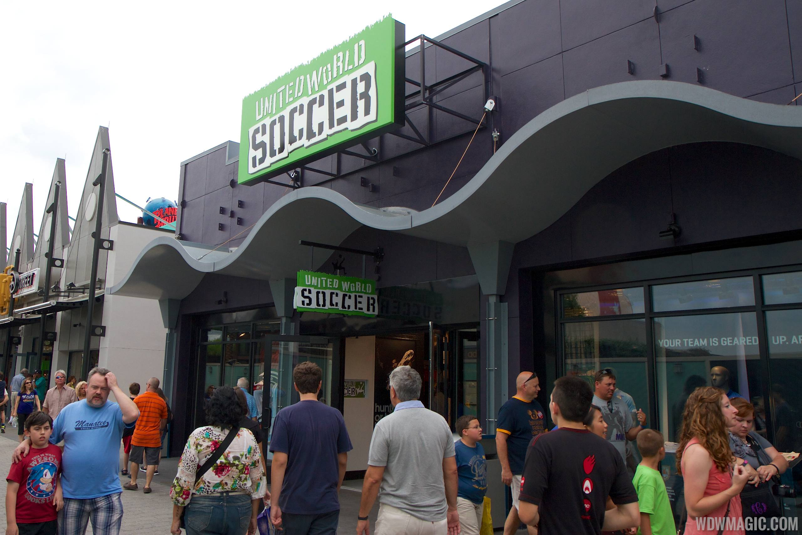 United World Soccer exterior