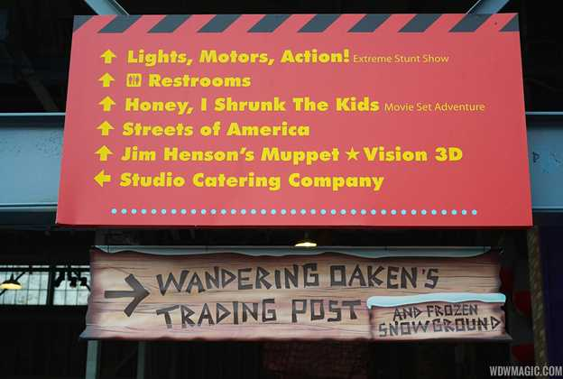 Wandering Oakens Trading Post and Frozen Snowground opening day