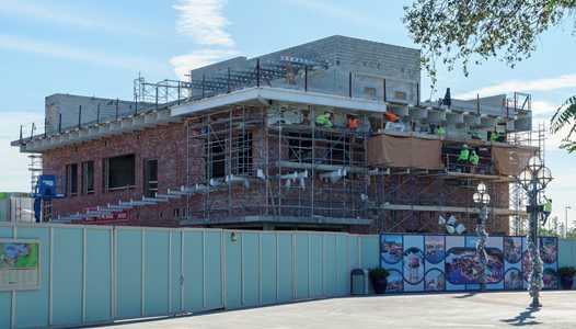 PHOTOS - World of Coca-Cola experience under construction at Disney Springs