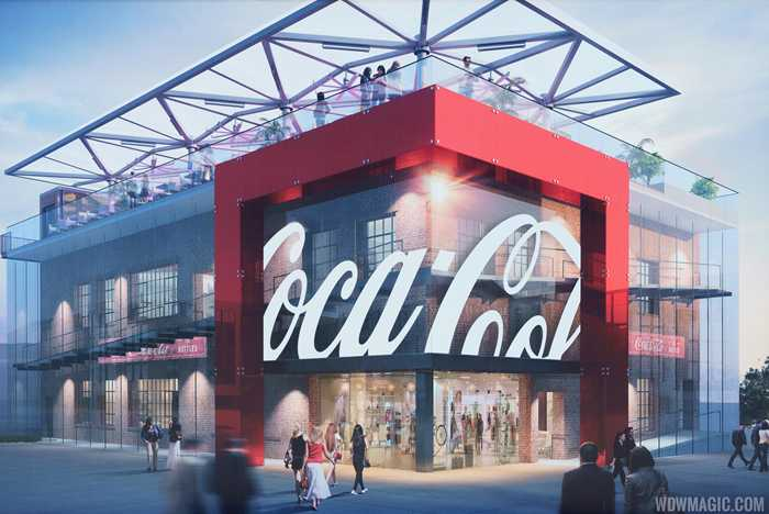 Coca-Cola Store construction