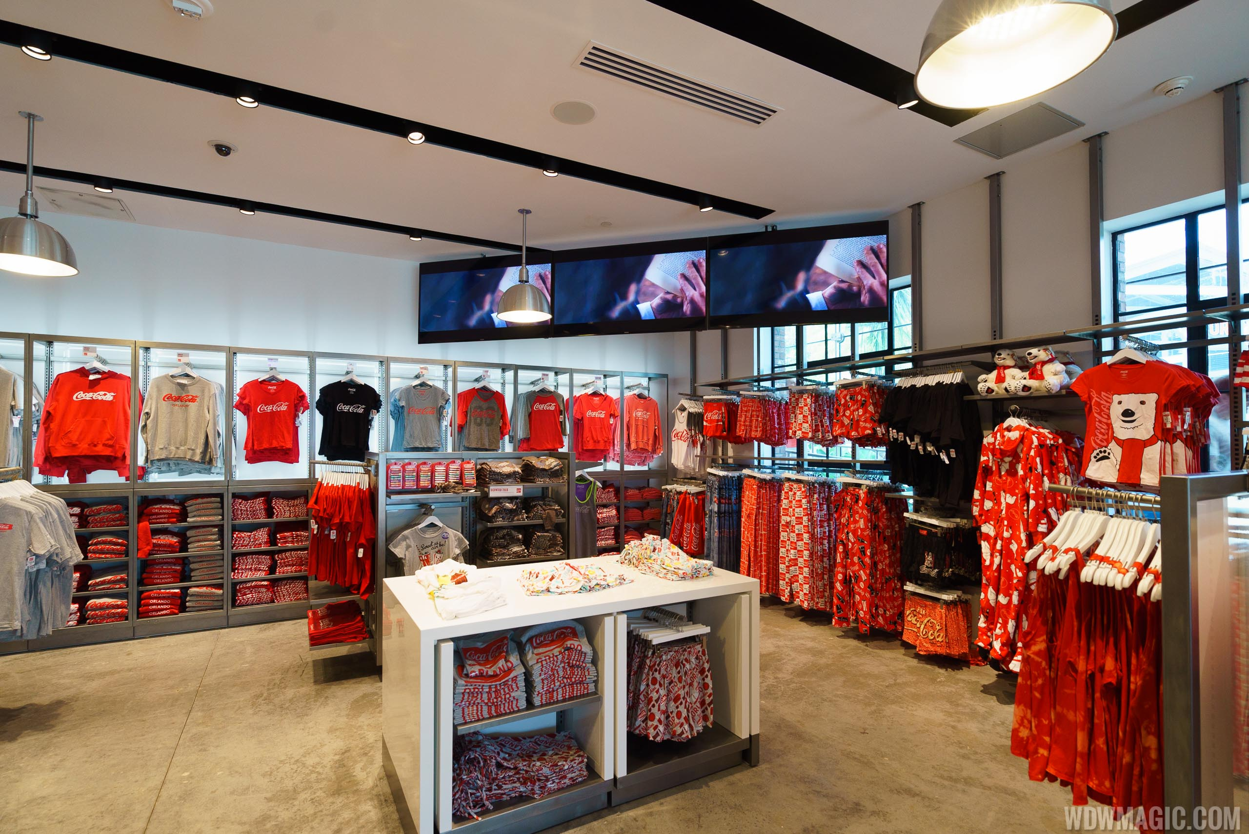 Coca-Cola Store Orlando - Ground Floor merchandise