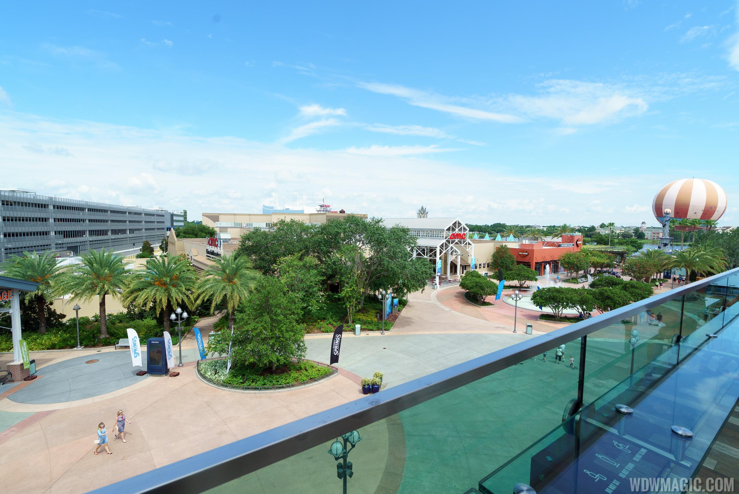 Coca-Cola Store Orlando - View from the rooftop