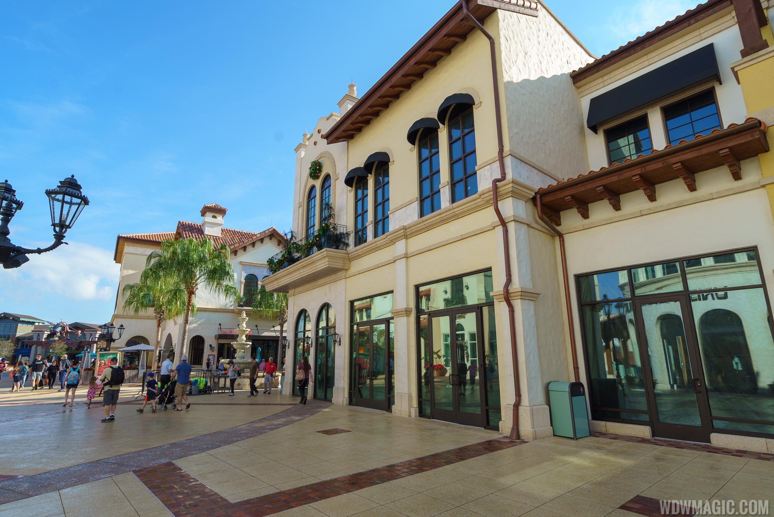 Temporary World of Disney location opening soon in the Town Center