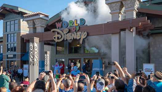 PHOTOS - New look World of Disney store reopens at Disney Springs