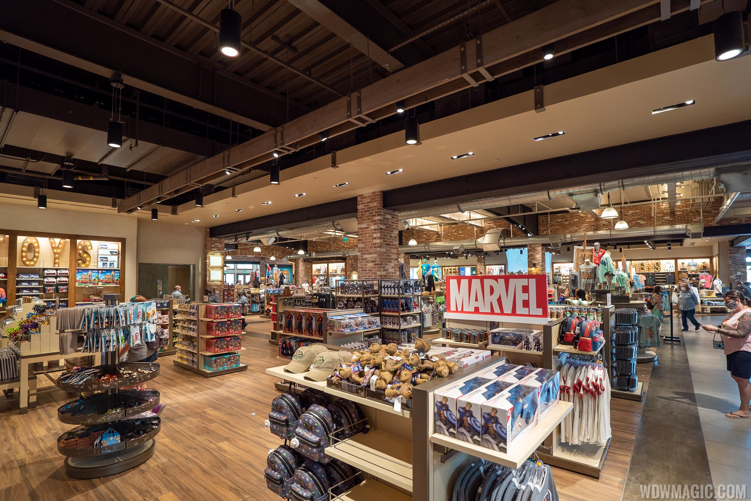 Merchandise from World of Disney can often be found discounted at the outlet locations