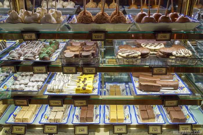 Zuri's Sweets Shop treats case