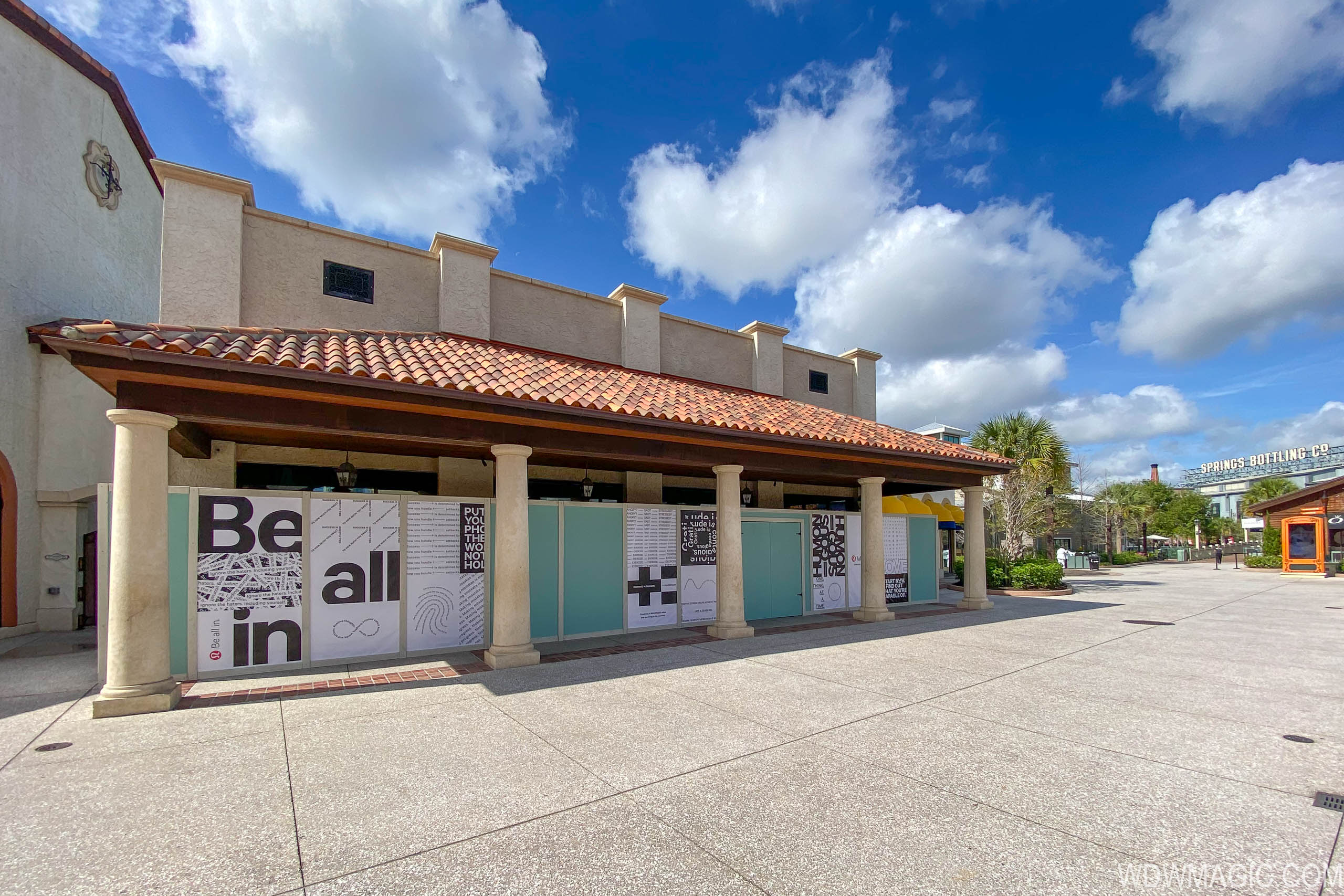 lululemon store coming to Disney Springs replacing the Trophy Room
