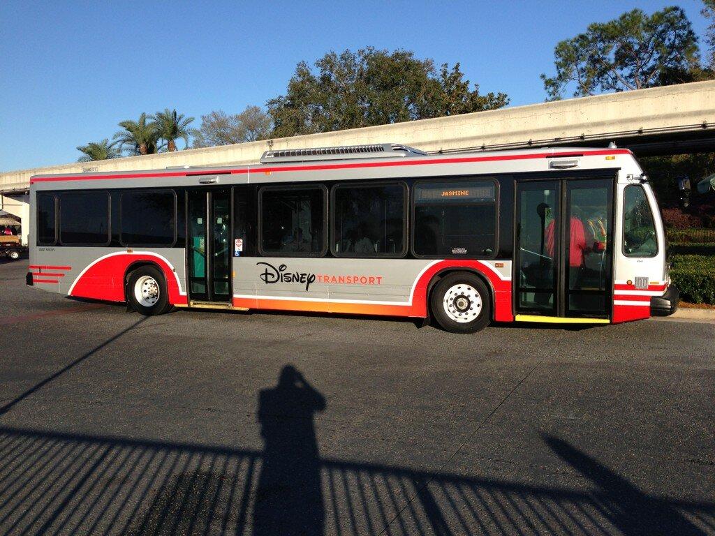 New bus transport paint scheme