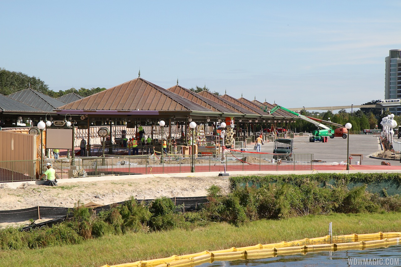 The new Magic Kingdom bus loop